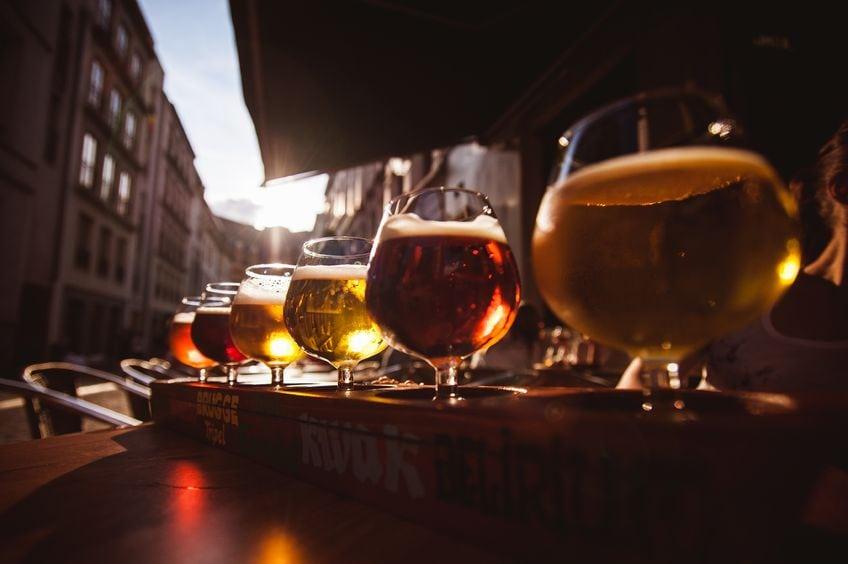 downtown denver rock bottom brewery