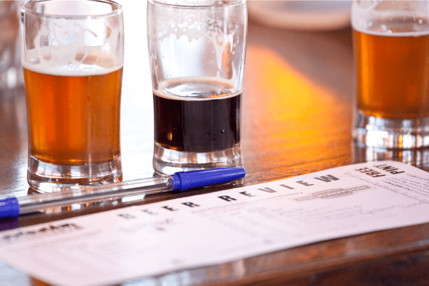 "Beers and Beer Review on ""LoDo Craft Beer Tour""  - Denver Brewery tours"