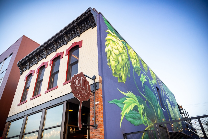 Odell Brewing Company's RiNo Taproom