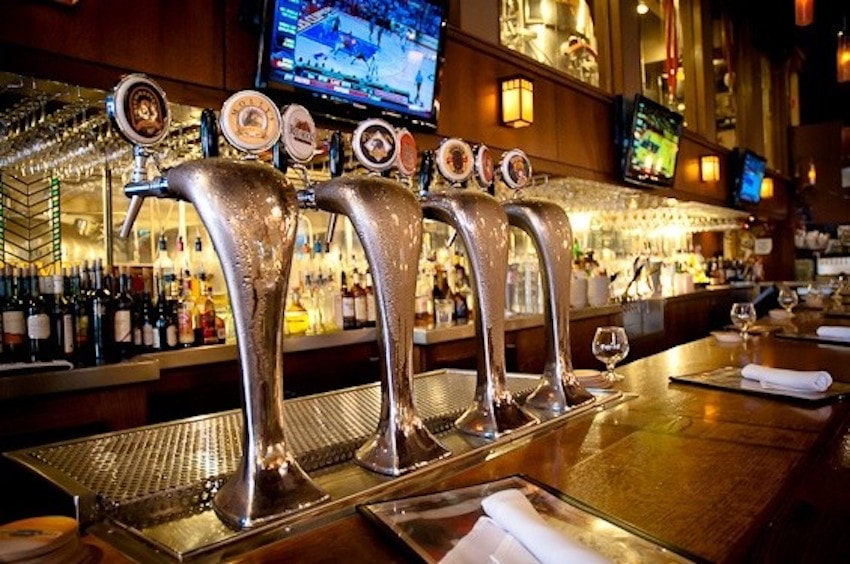 Bar at Rock Bottom - Only serves beer made on site