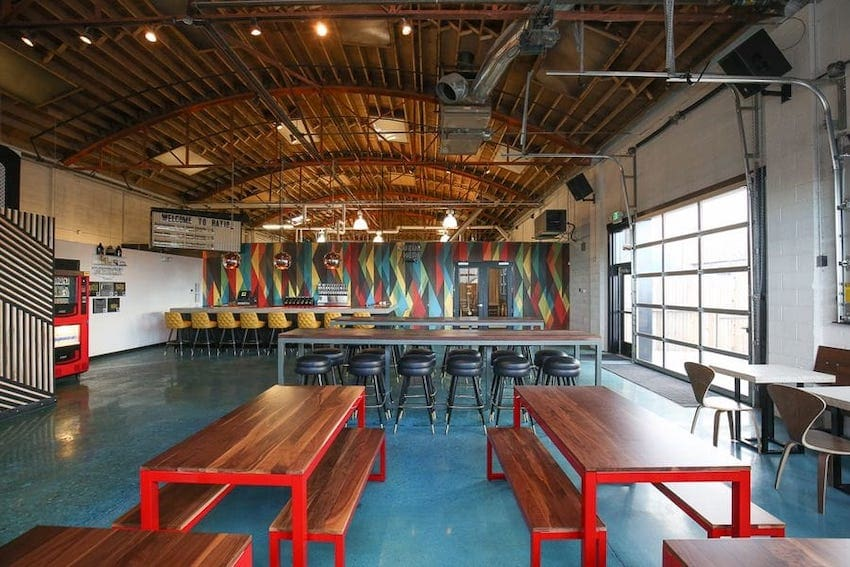 Ratio Beerwork's Punk Rock Inspired Taproom