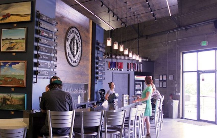River North Brewery's new Blake Street taproom, at 34th and Blake