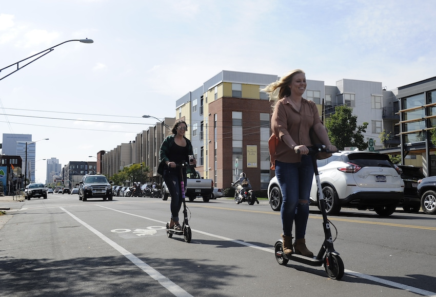 Electric Scooters in Denver