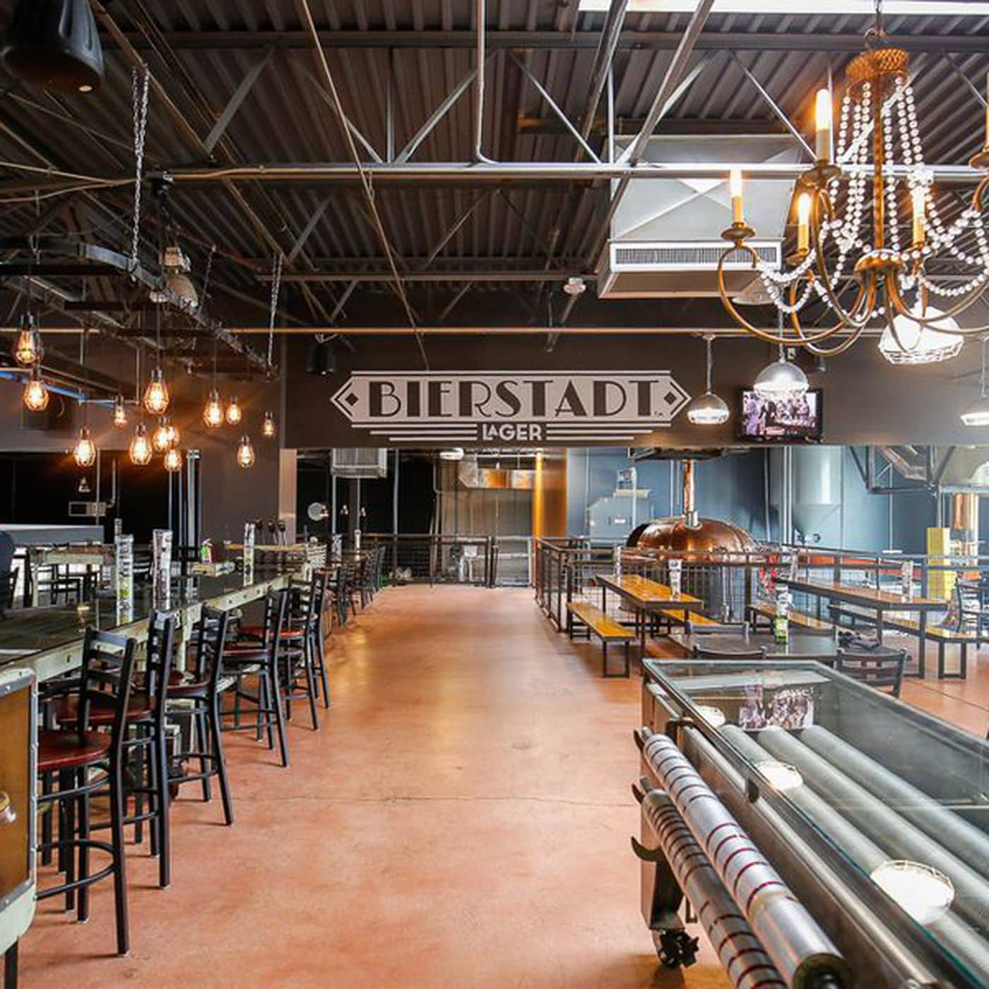 Bierstadt Lagerhaus - One of many breweries in Denver with Food