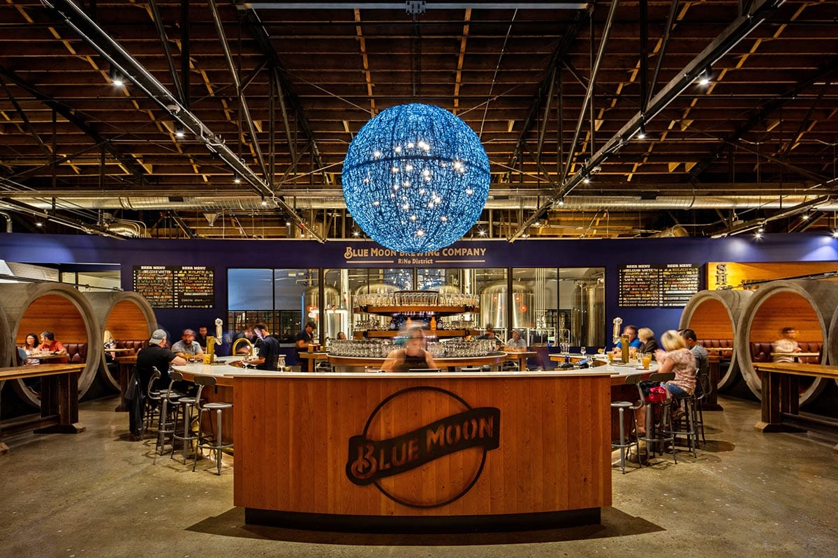 Blue Moon Brewing - one of many breweries in Denver with food