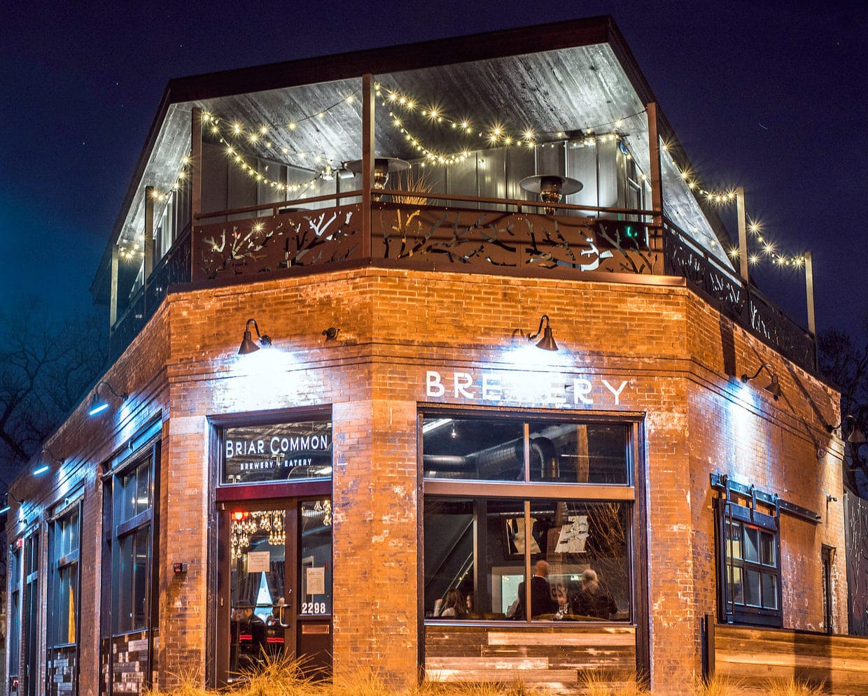 Briar Common - one of many breweries in Denver with food