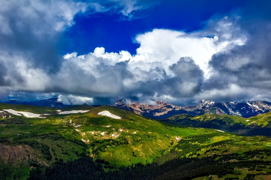Colorado mountains - a great place for beer!